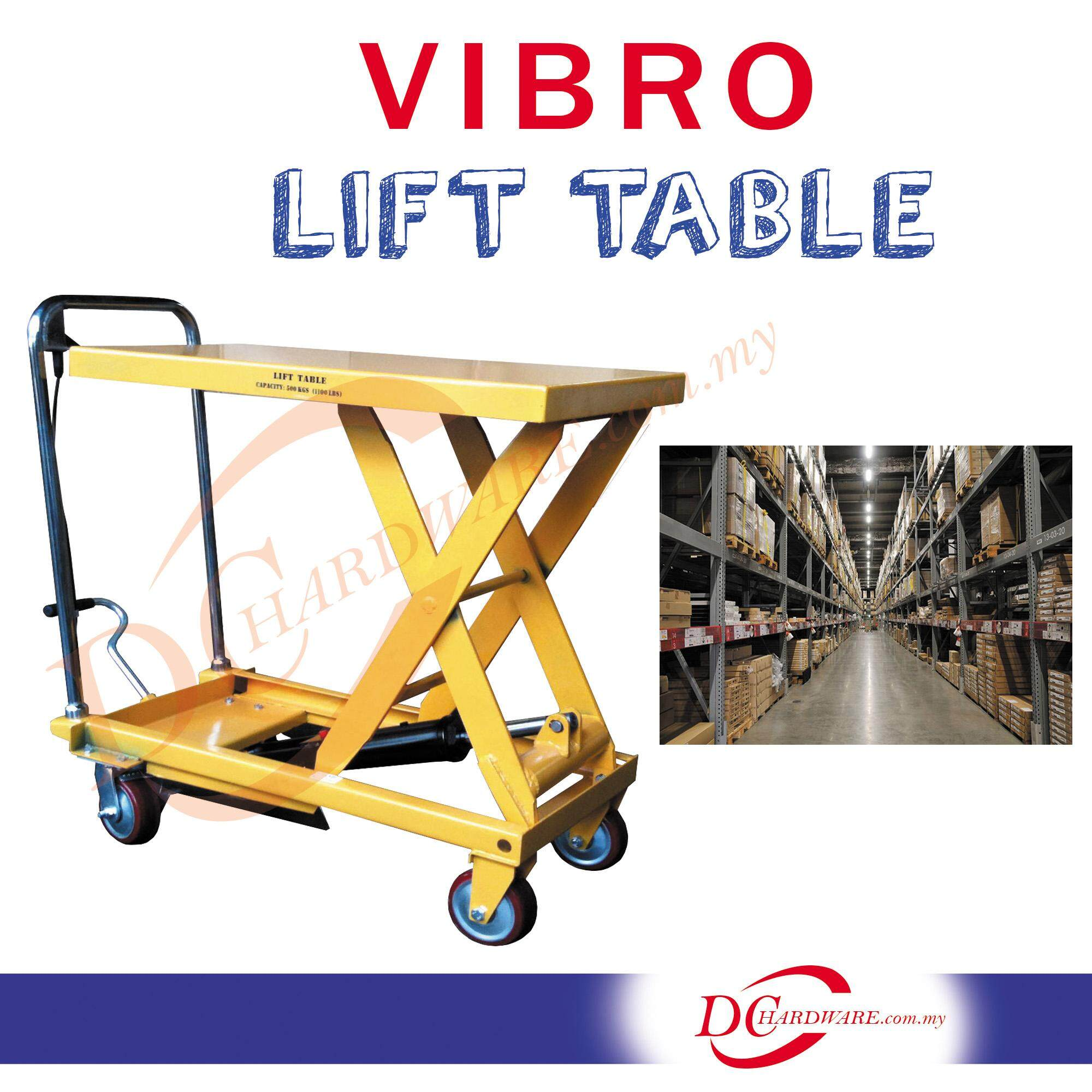 VIBRO HAND LIFTING TABLE 500KG (WP-500)