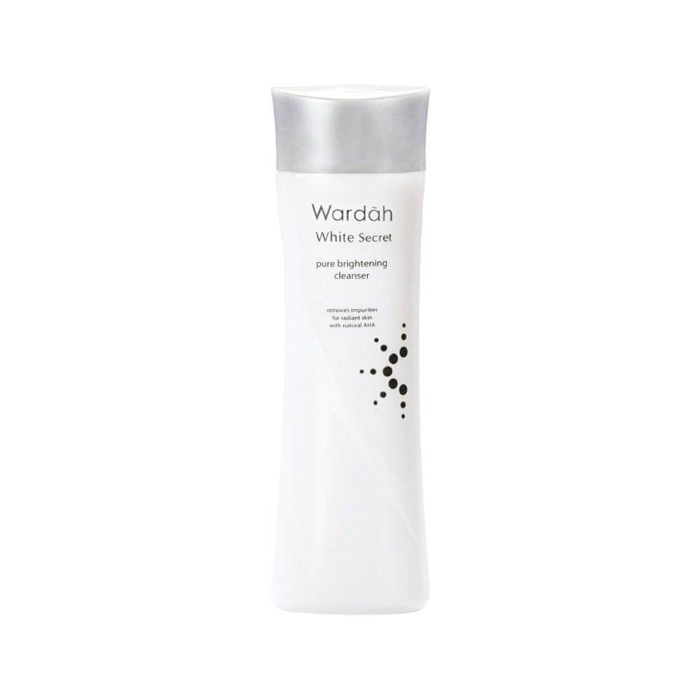 Wardah Cosmetics Buy At Best Price In Malaysia C Defence Serum White Secret Pure Brightening Cleanser 150ml