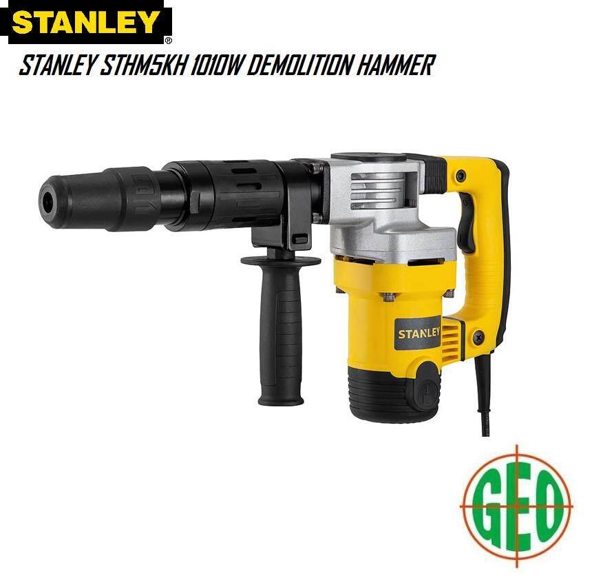 STANLEY STHM5KH 1010W DEMOLITION HAMMER FOC 1 PCS BALL POINT CHISEL [ GEOLASER ]