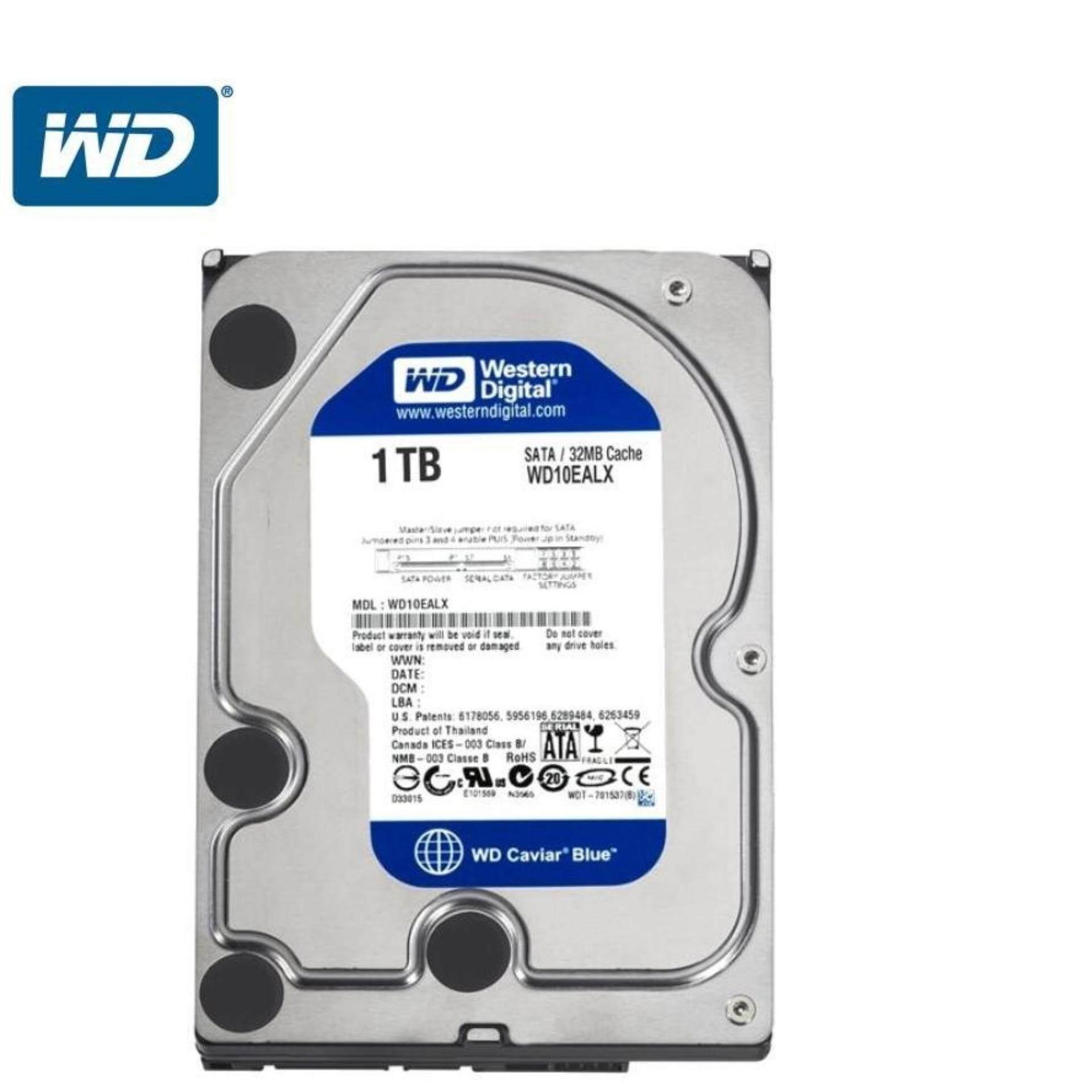 Wd Blue 1 Tb 7200 Rpm Chace 64mb Hdd Internal Pc 35 Biru Review 6tb Sata Harddisk 35inch Free Antivirus Kaspersky Pen Western Digital 1tb Desktop Hard Disk Drive
