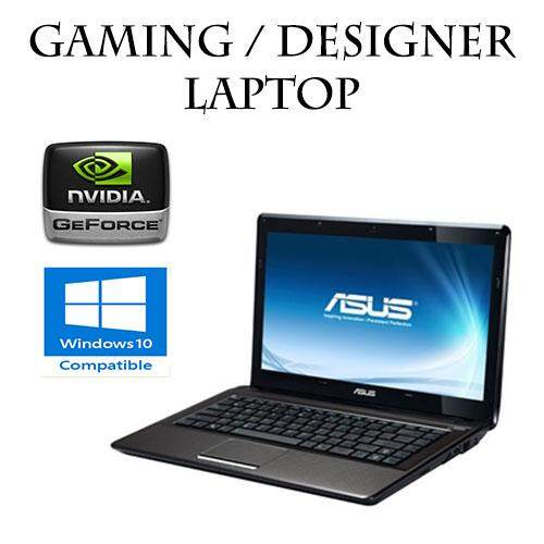 ASUS A43 Intel Core i5 @ 3.0ghz nvidia 8GB 500GB Notebook Gaming Laptop Dota2 CSGO (Refurbished) Malaysia
