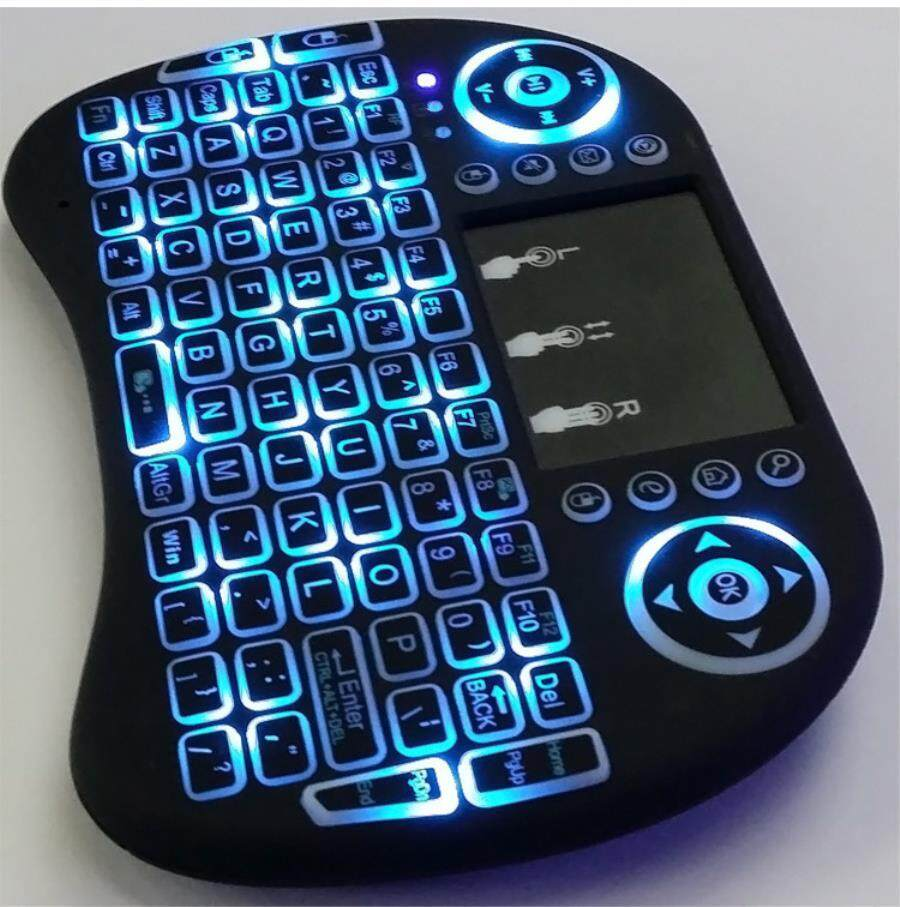 2.4g Flying Squirrel Mini Backlight Keyboard Three Color Backlight Keyboard With Touchscreen Malaysia