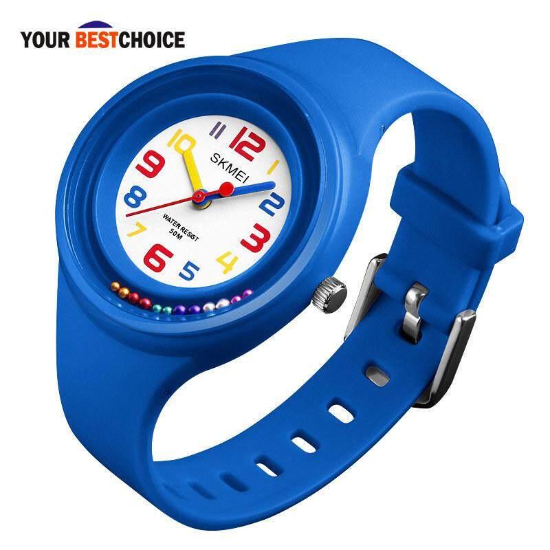 YBC Child Kids Watch Waterproof Quartz Watches Sports Children Girls Boys Wristwatch Gifts