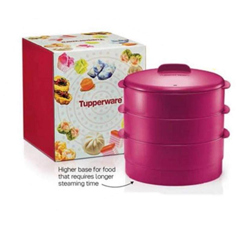 Tupperware Steam It Purple