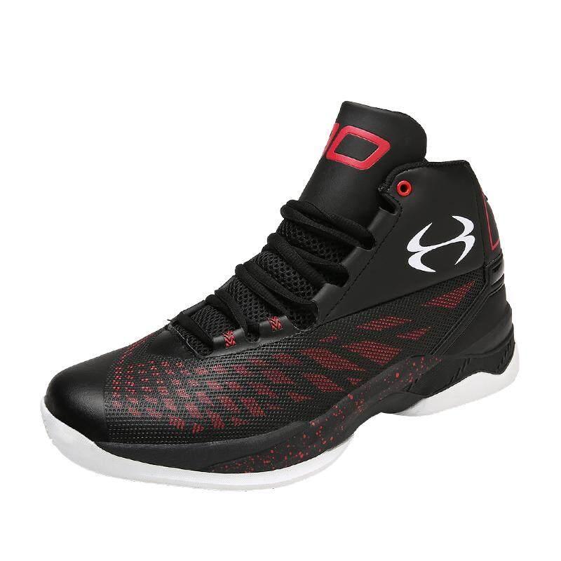 1821da3b2ae Men's basketball shoes Men Sport Male High Top Anti-slip Sport Sneakers  outdoor sport shoes