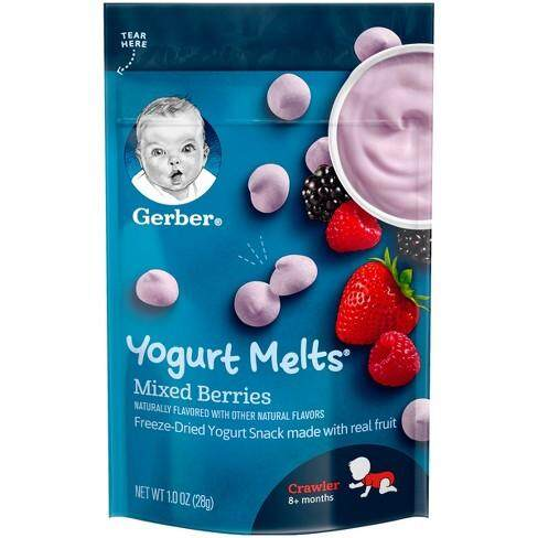 Gerber Yogurt Melts Mixed Berries (28G)