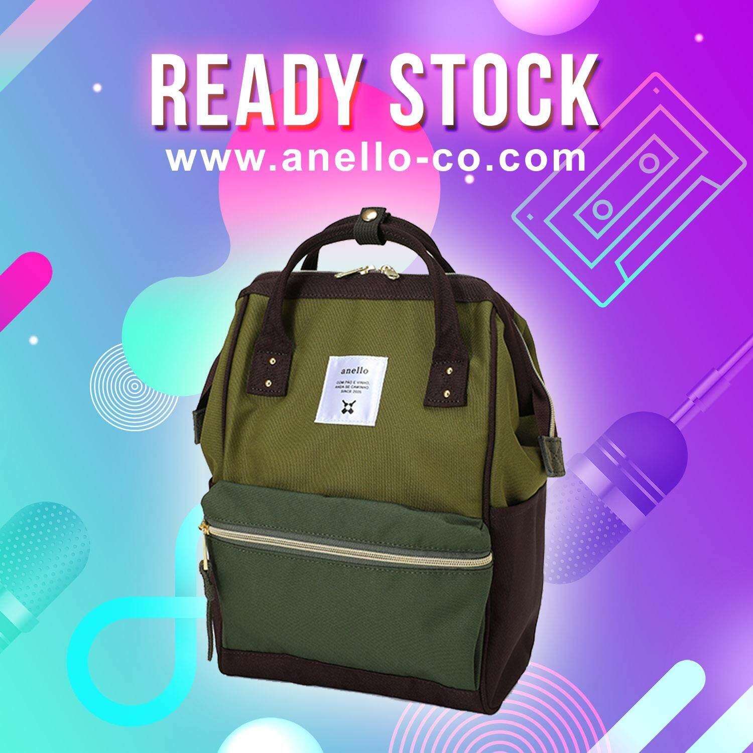 789f8f2c9a (Ready Stock)  100% Authentic  Japan Polyester Canvas Mouthpiece Mini  Rucksack (
