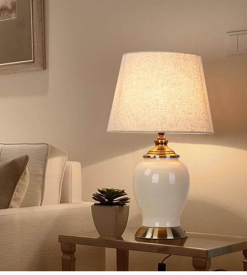 Led Ceramic Lamp Bedside Classical, Ceramic Table Lamps India