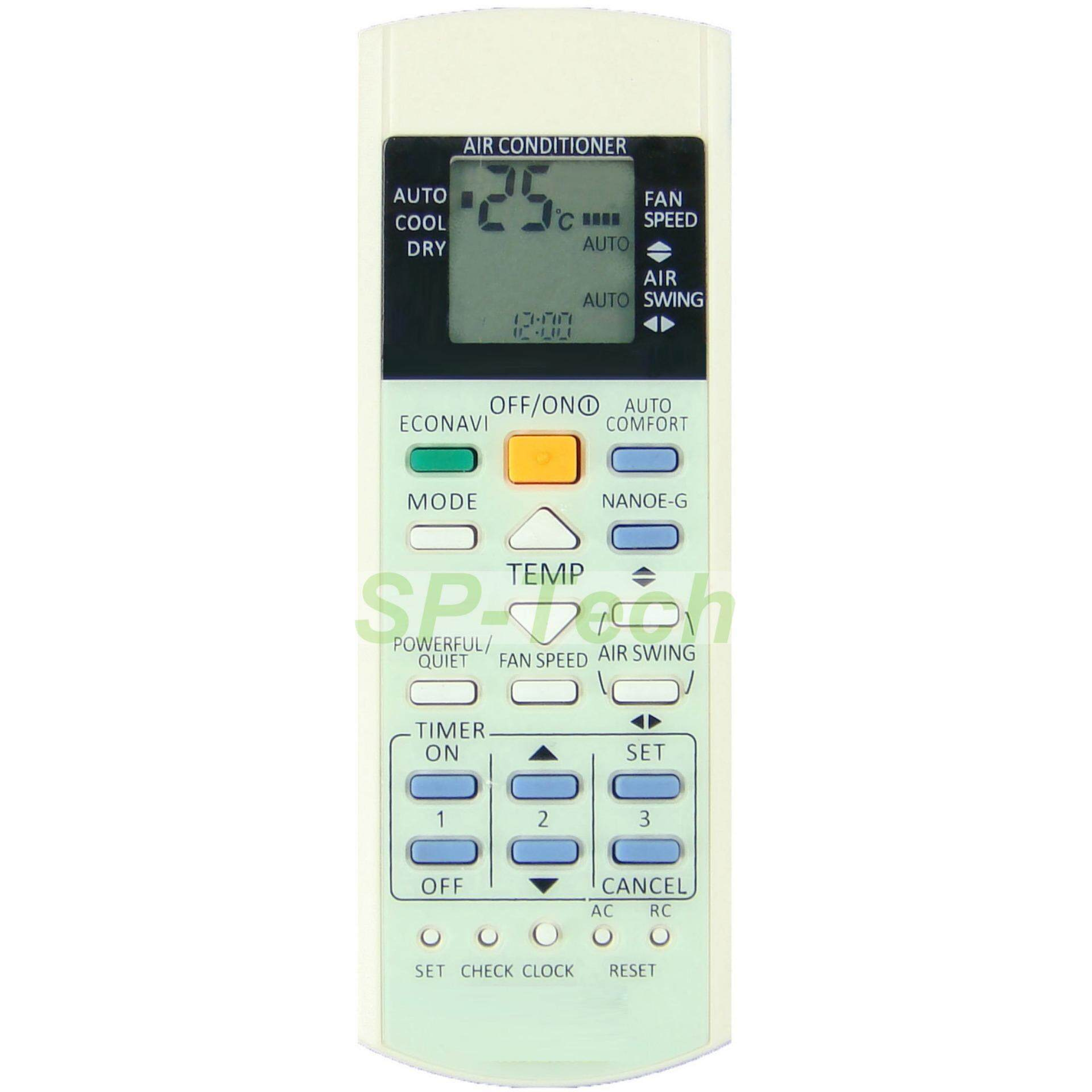 A75C3706 PANASONIC AIR CONDITIONING REMOTE CONTROL - (BUY 2 FREE 1)