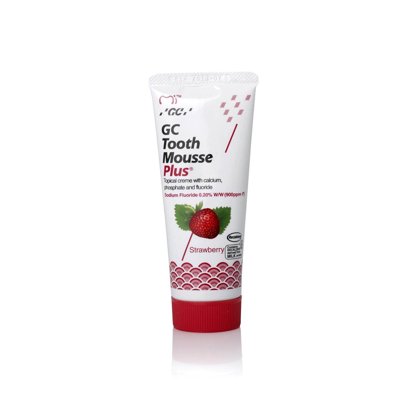 Gc Tooth Mousse Plus 40g (strawberry) By My Gorgeous.