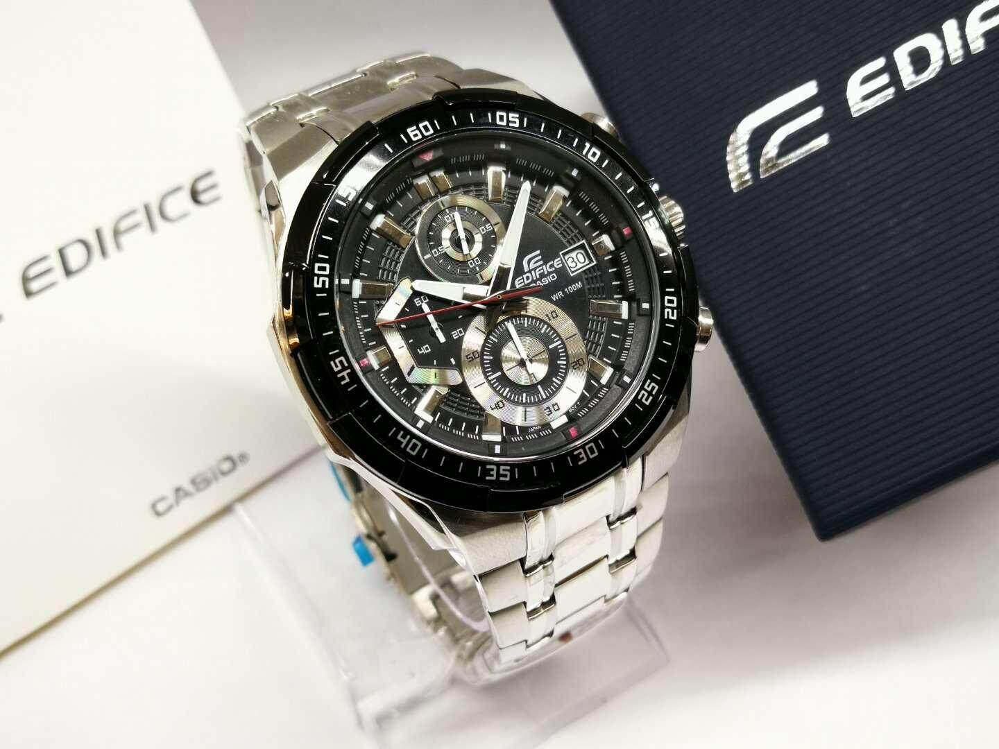Casio Edifice Watches Price In Malaysia Best Efr 529d 1a2vdf Jam Tangan Pria Stainless Steel Black Lazada