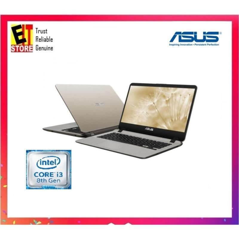 ASUS A407U-ABV363T ICILE GOLD (I3-8130/4GB/1TB/14/W10/1YR) + BACKPACK Malaysia