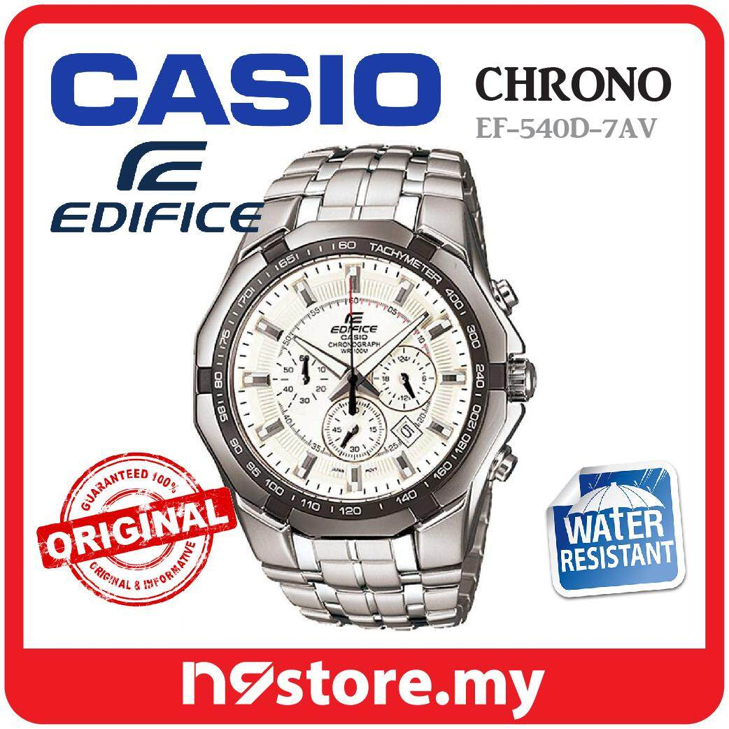 Casio Edifice Watches Price In Malaysia Best Efr 501d 7av Jam Tangan Pria Silver Ef 540d Chronograph Watch For Men Stainless Steel