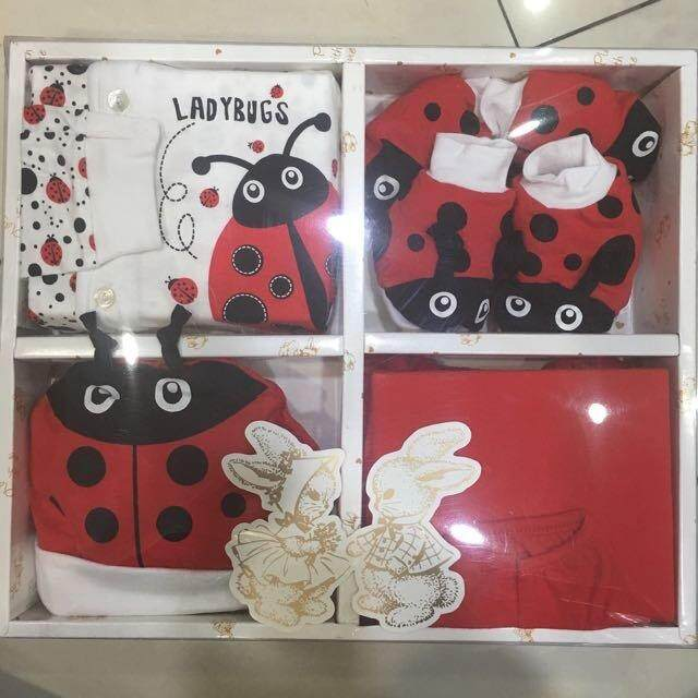 Unisex Baby Cute Baby Gift Set 222-0005 Ladybug 0-6 Months By Preciousbabeboutique.