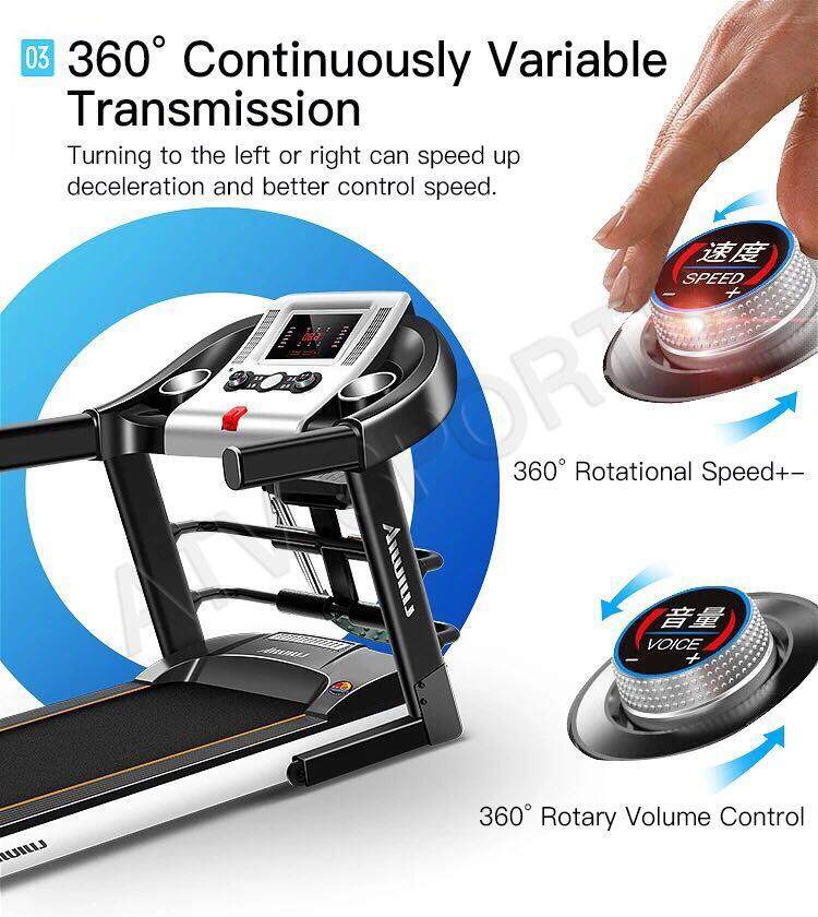 New Arrive Lightning Send Lijiujia Multifunction Treadmill Can Be Folded Mp3- 1 Year Warranty By Atv Sports And Style Sdn Bhd.