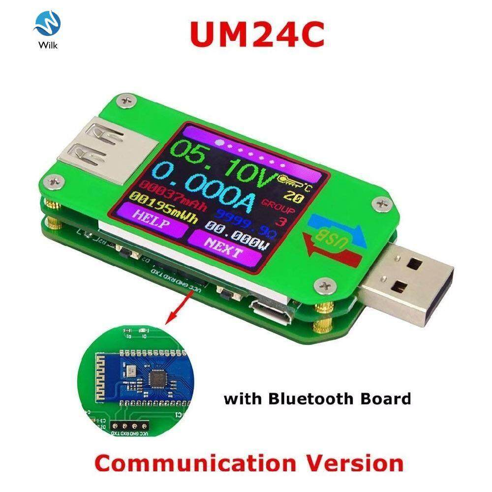 Techinal RD UM24C USB 2.0 Color LCD Display Tester Voltage Current Power Temp Meter