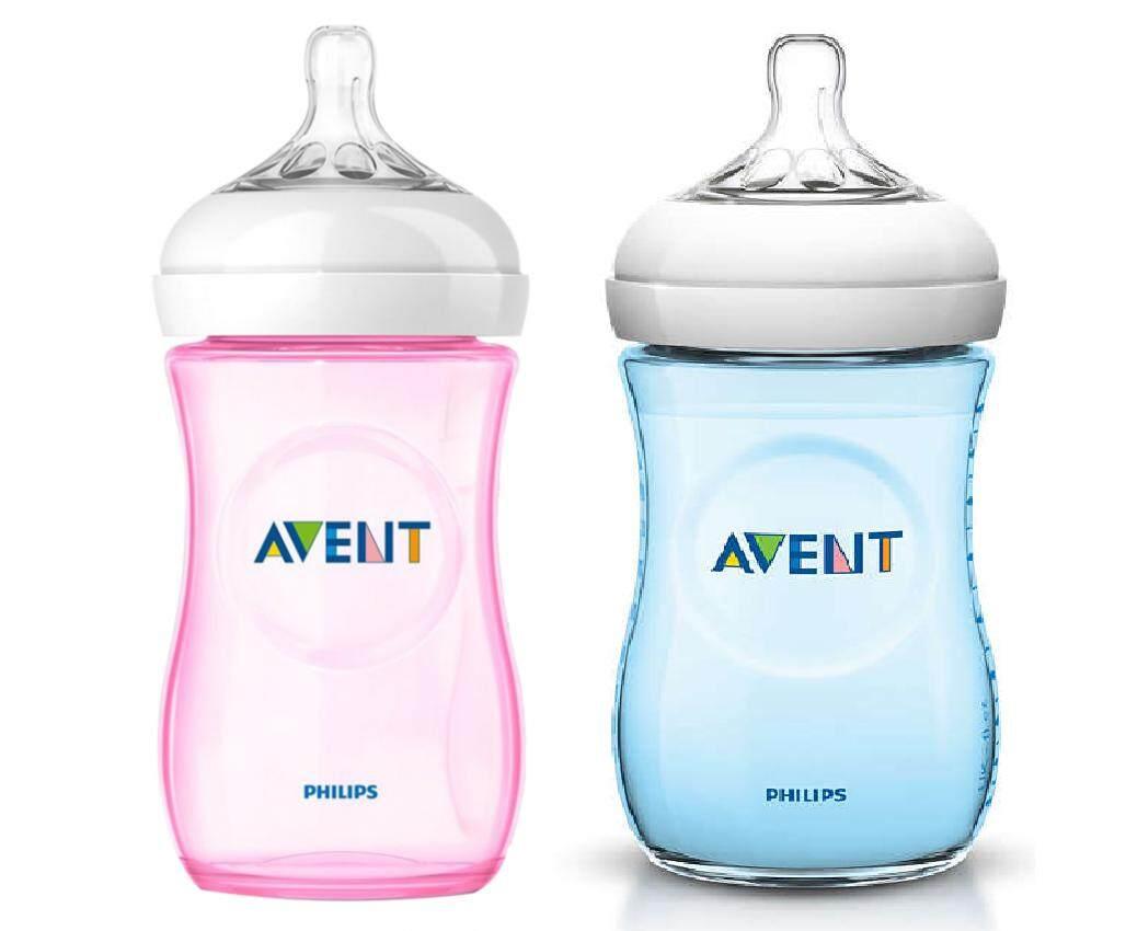 Philips Avent Natural Bottle 260ml 9oz Blue Pink Mix 2pcs Comotomo 150 Ml Single Pack