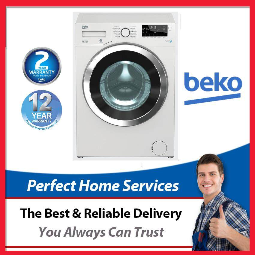 Beko New 9KG (WMY914831) AquaWave Front Load Washer with 12 Years ProSmart Inverter Motor Warranty, Express Direct Shipping Within Klang Valley