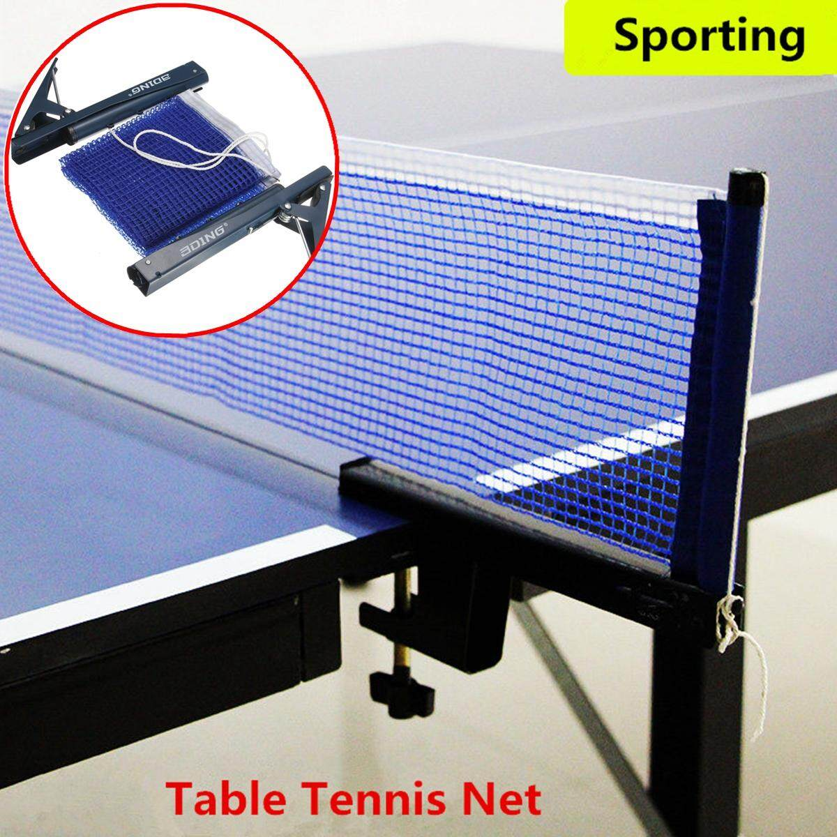 Portable Table Tennis Ping Pong Net Post Clamp Stand Holder Mesh Rack Replaces By Freebang.