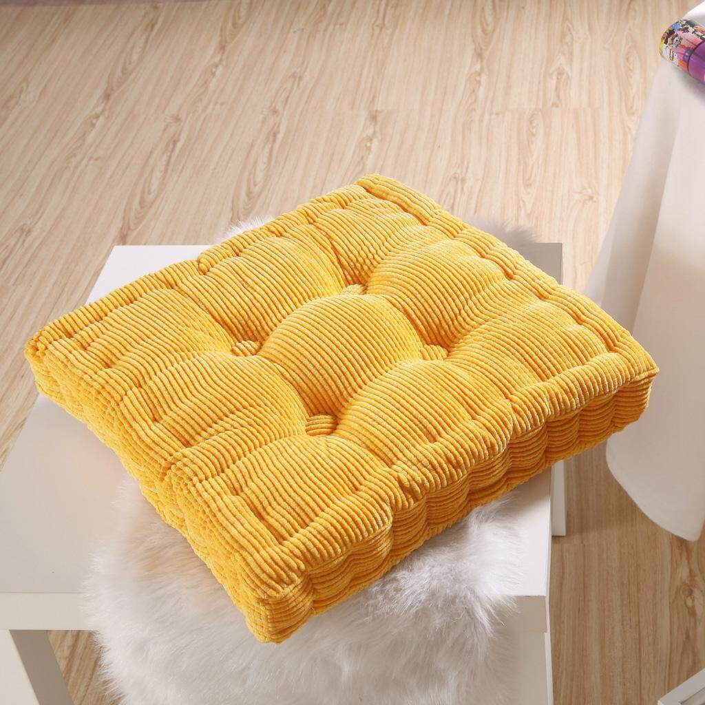 Dolity Indoor Home Car Sofa Office Square Garden Seat Chair Cozy Cushion Pad Yellow