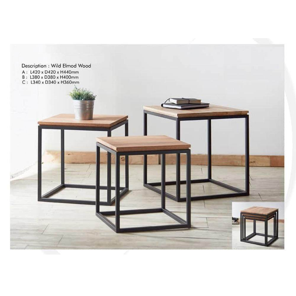 Square Nesting Coffee Table By Ck Home Solution.