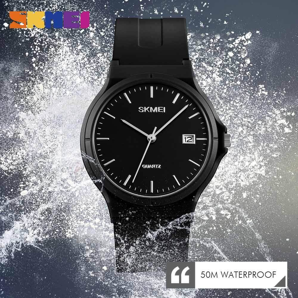 SKMEI New Women Fashion Watch Waterproof Quartz Watches Lightweight Simple Couple Wristwatches 1449