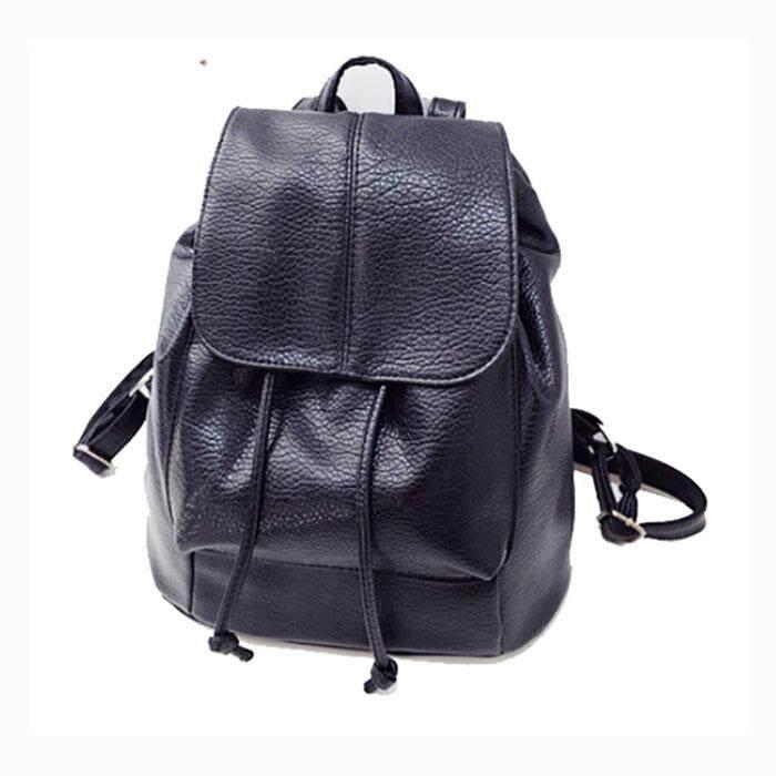 827d6a7e869 Korea Style Lady Back Pack Student Bag Woman Bag PU Leather