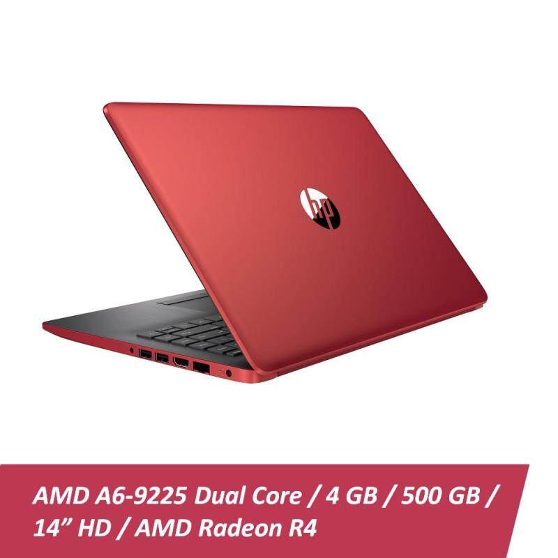 HP 14-CM0088AU Notebook Red (AMD A6-9225, 4GB RAM, 500GB HDD, Radeon R4 Graphics, Win10) + Free HP Backpack Malaysia