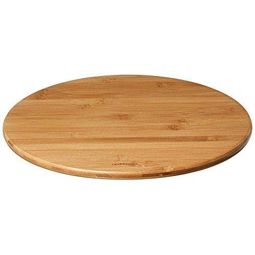 Greenco Bamboo Lazy Susan Turntable 14 Inch Diameter By Cross Border.