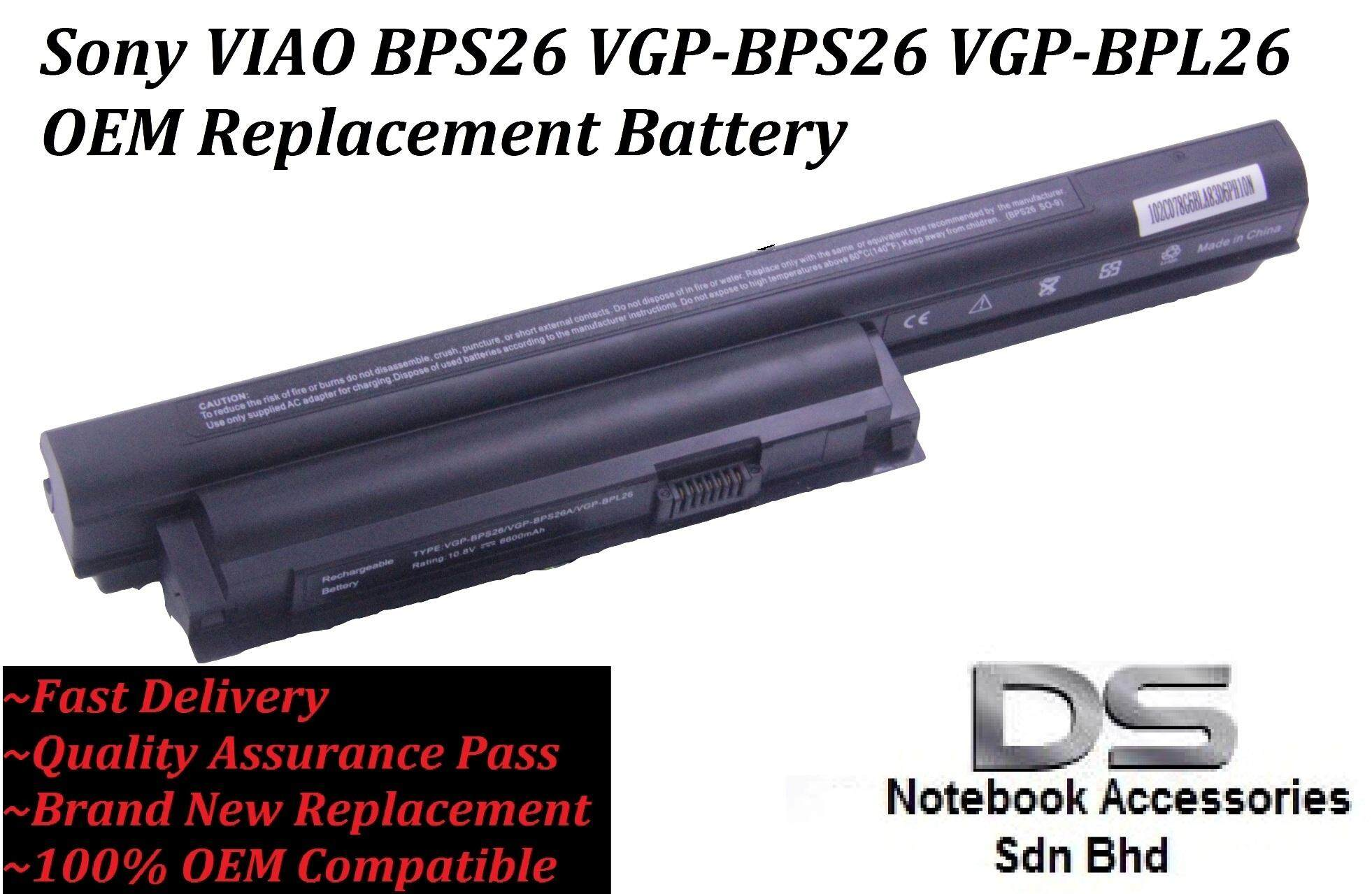 Replacement Laptop Battery for Sony Vaio VPCEG28FG/L /VGP-BPS26 Malaysia