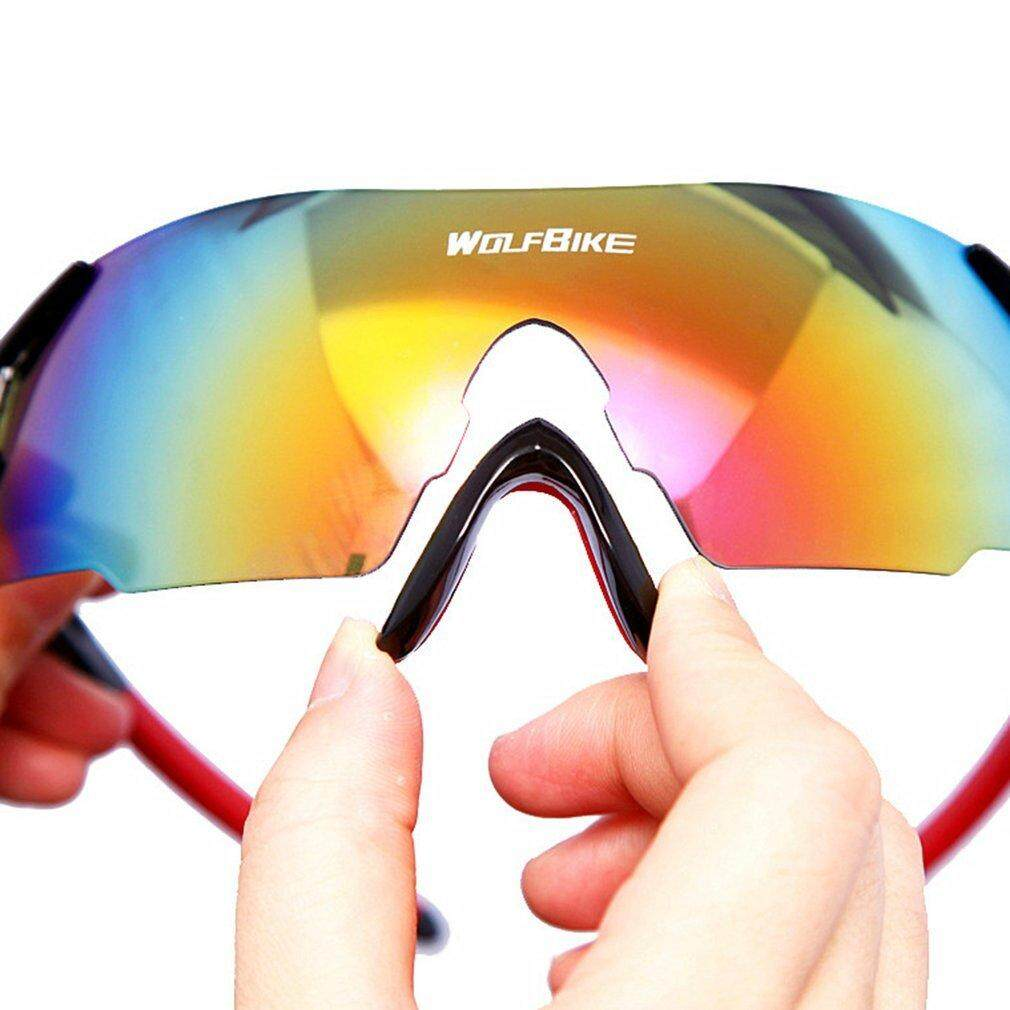 Fashion Unisex Cycling Glasses Windproof Motorcycle Skiing Goggles Protector