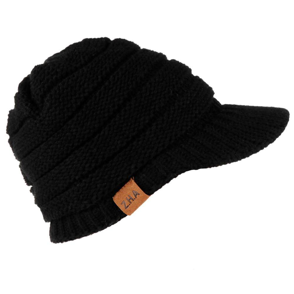 8c1c13a0b7d Hatchshop Adult Women Men Winter Crochet Hat Knit Hat Warm Baseball Cap