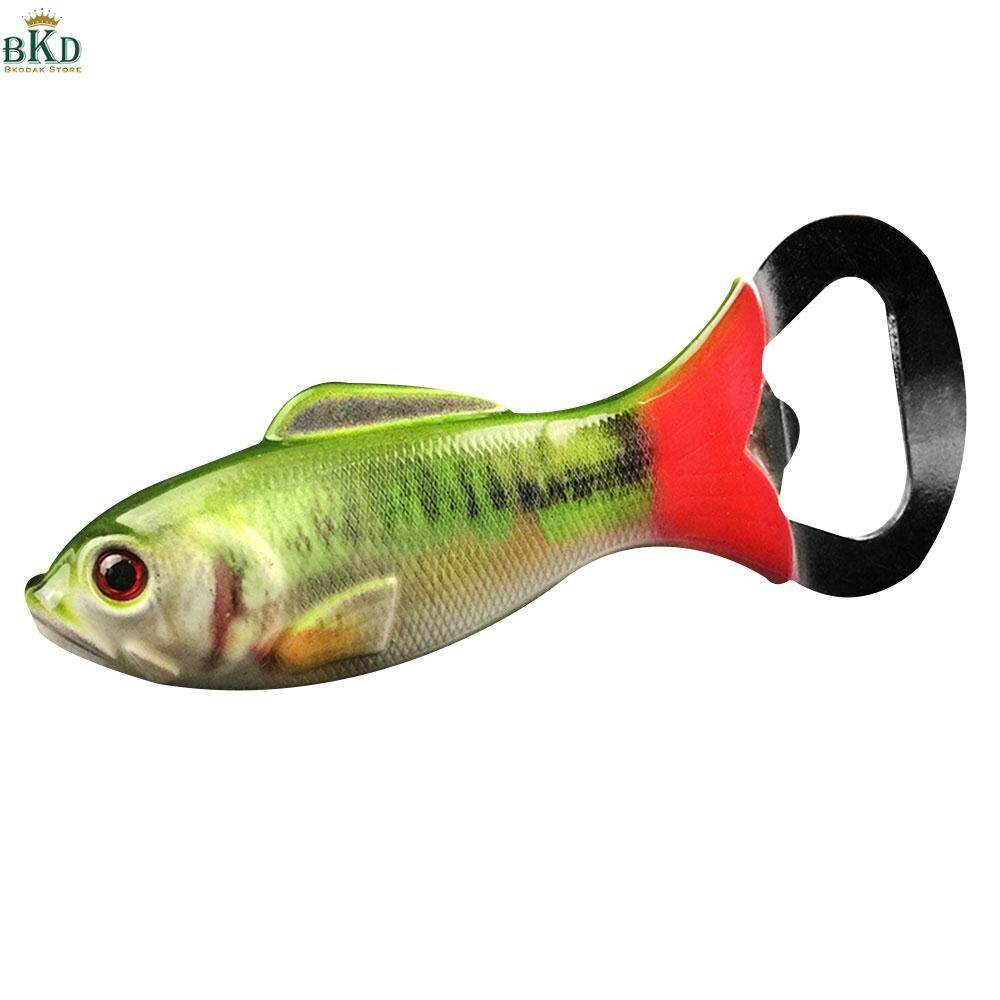 Bokeda Store Stainless Steel Fish Shaped Bottle Opener Wine Opener By Bokeda Store.