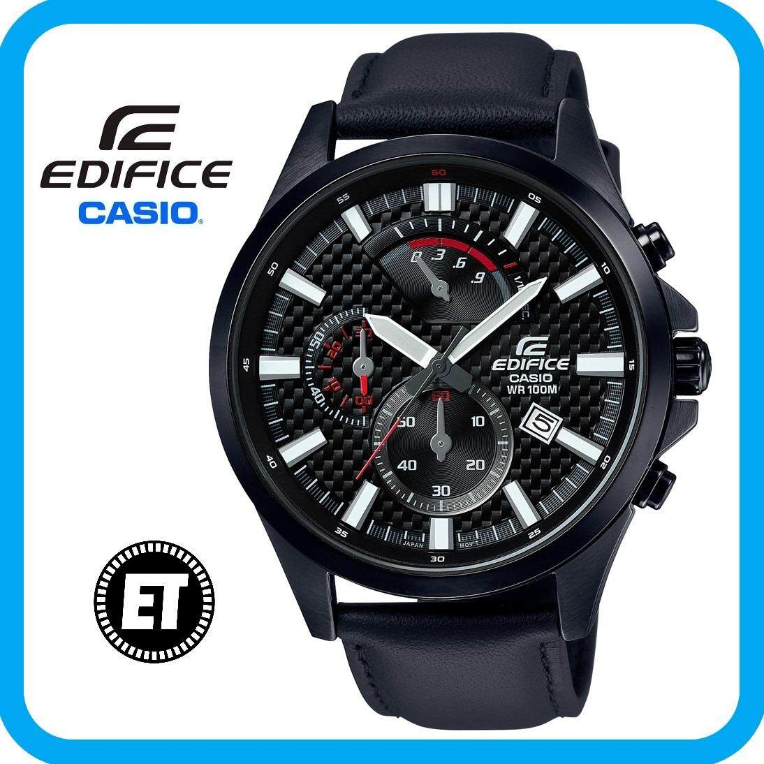 Casio Edifice Watches Price In Malaysia Best Sandal Kulit Pria Rc237 2 Years Warranty Original Efv 530bl 1av Chronograph Mens Watch