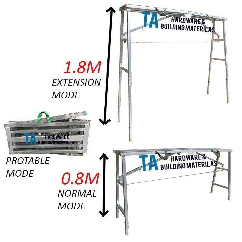 PROTABLE WORK TABLE WORKBENCHES (3 MODE) WITH ANTI-RUST COATING