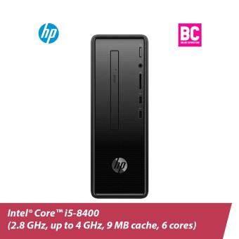 HP Slim 290-p0048d  (Dark black)