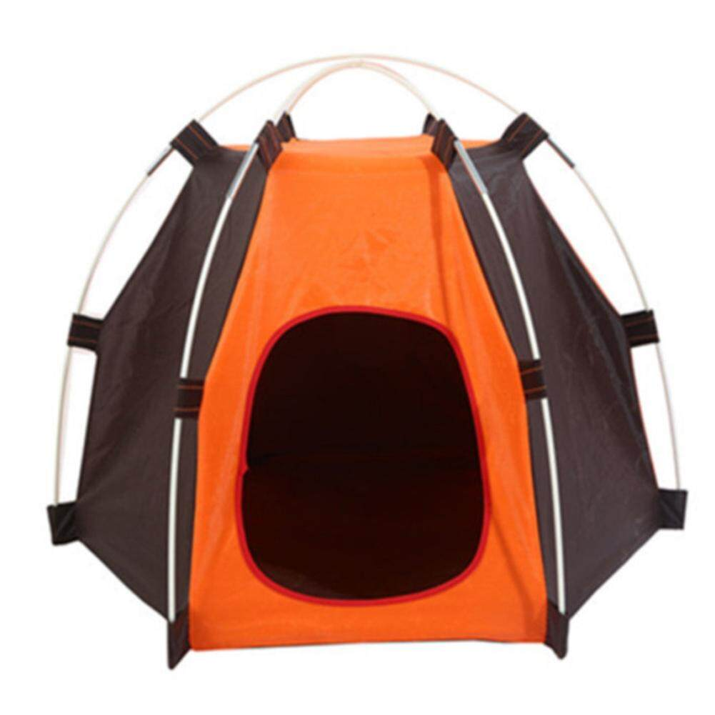 Lumiparty Fashionable Hexagon Pet Tent Waterproof Moisture-Proof Outdoor Pet Tent For Cats And Dogs By Lumiparty