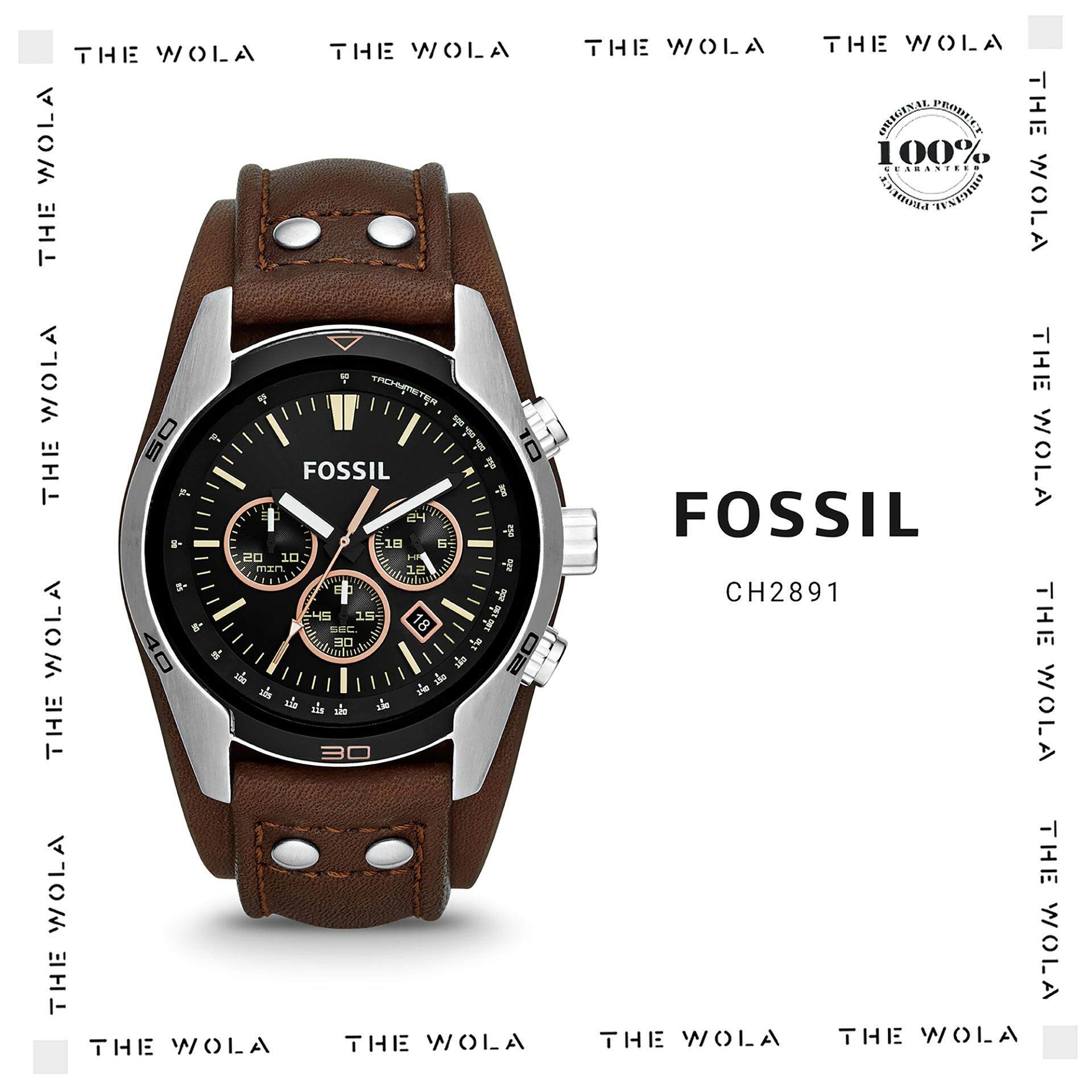 Fossil Watches Price In Malaysia Best Lazada Jam Tangan Wanita Original Es3565 Casual Men Watch Ch2891 Genuine 2 Years Warranty