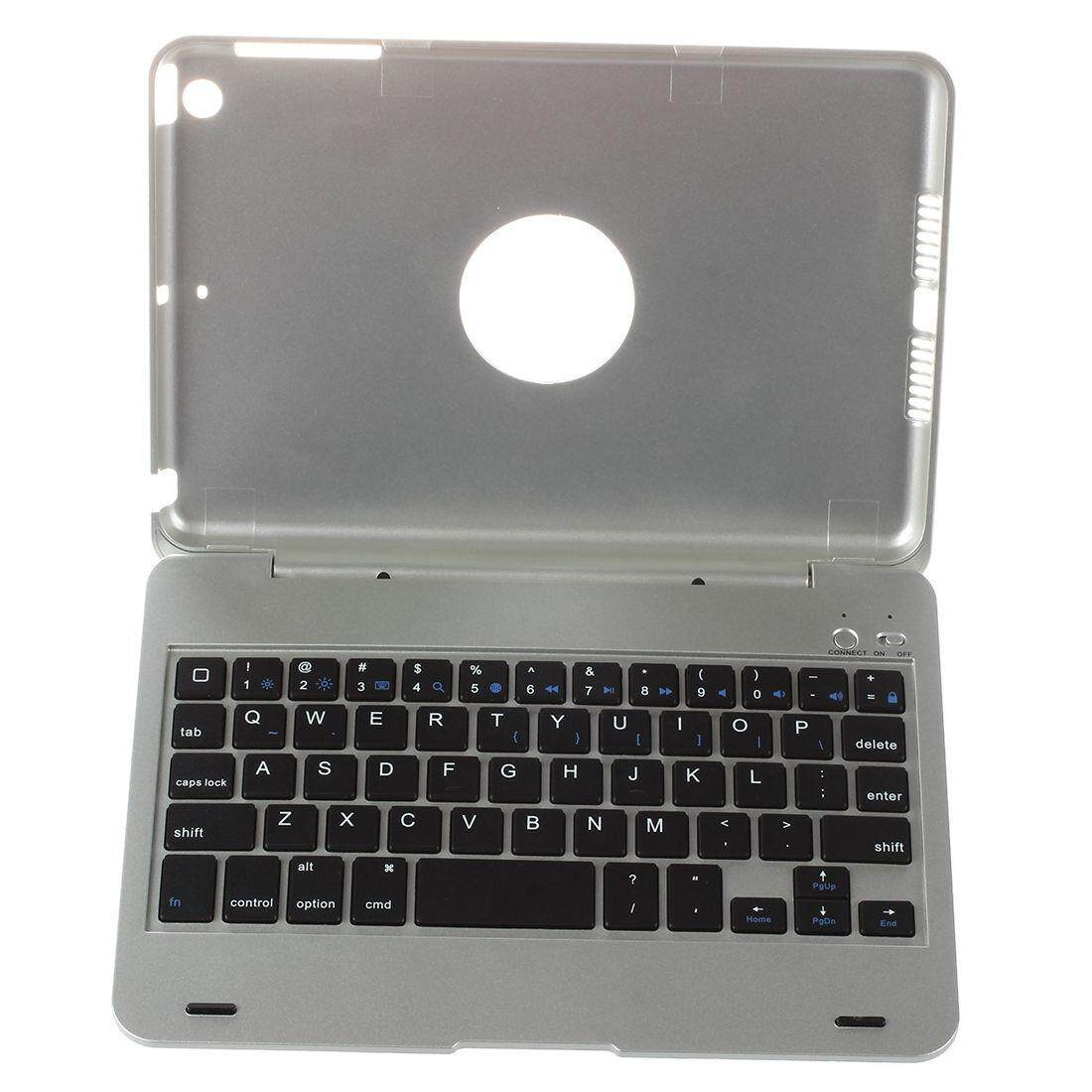 Wireless Bluetooth Keyboard Wireless Keyboard Case for iPad Mini Silver Color Malaysia