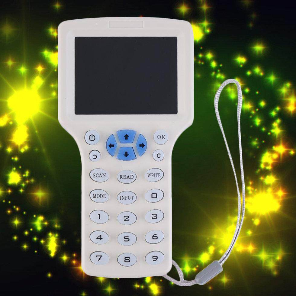 GOFT White 9 Frequency Copy Encrypted NFC Smart Card RFID Copier ID/IC Reader Writer White Malaysia
