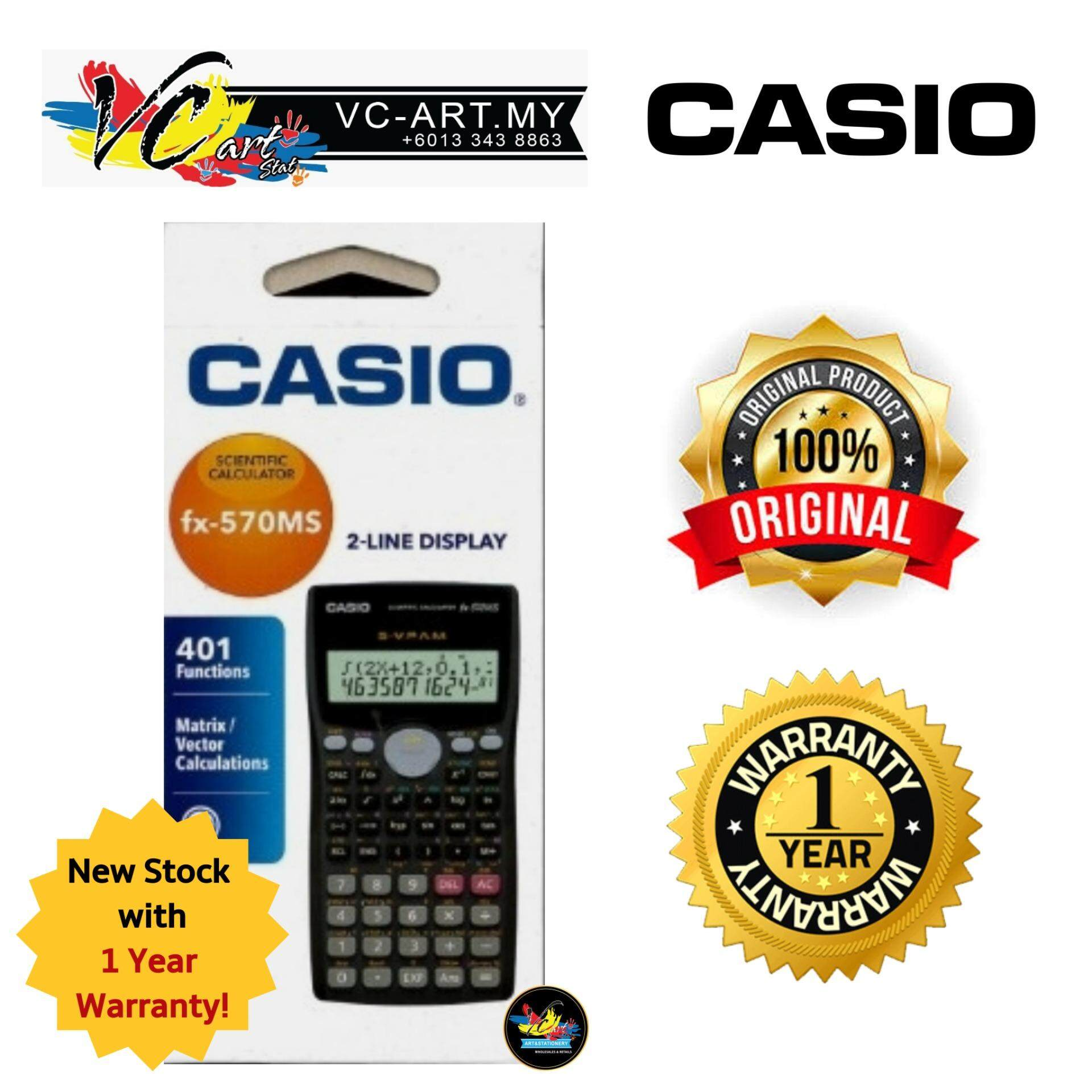 e0065f55d349 MYR 54. Casio Scientific Calculator FX-570MS ...