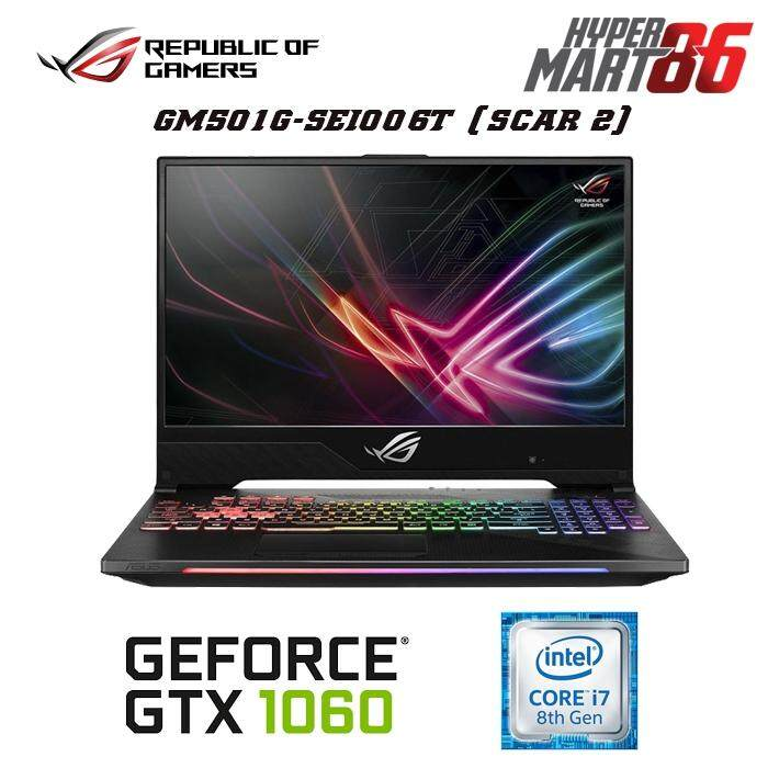 Asus ROG Strix GL504G-MES193T Scar II Edition (15.6inch/Intel i7/16GB/1TB+256GB SSD/GTX1060 6GB) Malaysia