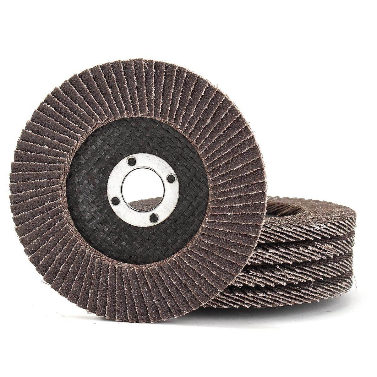 1pc 100MM 4 80 GRIT FLAP DISCS Zirconia Angle Grinder Wheels Metal Wood Sanding