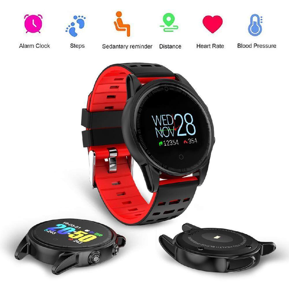 Smart Watches Buy At Best Price In Malaysia Www Jam Tangan Wanita Original Fossil Es3734 Yupt New R13 Watch Color Screen Wristwatch Heart Rate Monitor Sport Band Fitness Tracker