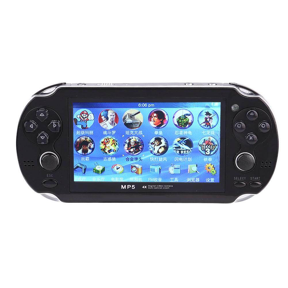 4.3 8gb 32bit Built In Games Mp3 Portable Handheld Video Game Console Player By Mingrui.