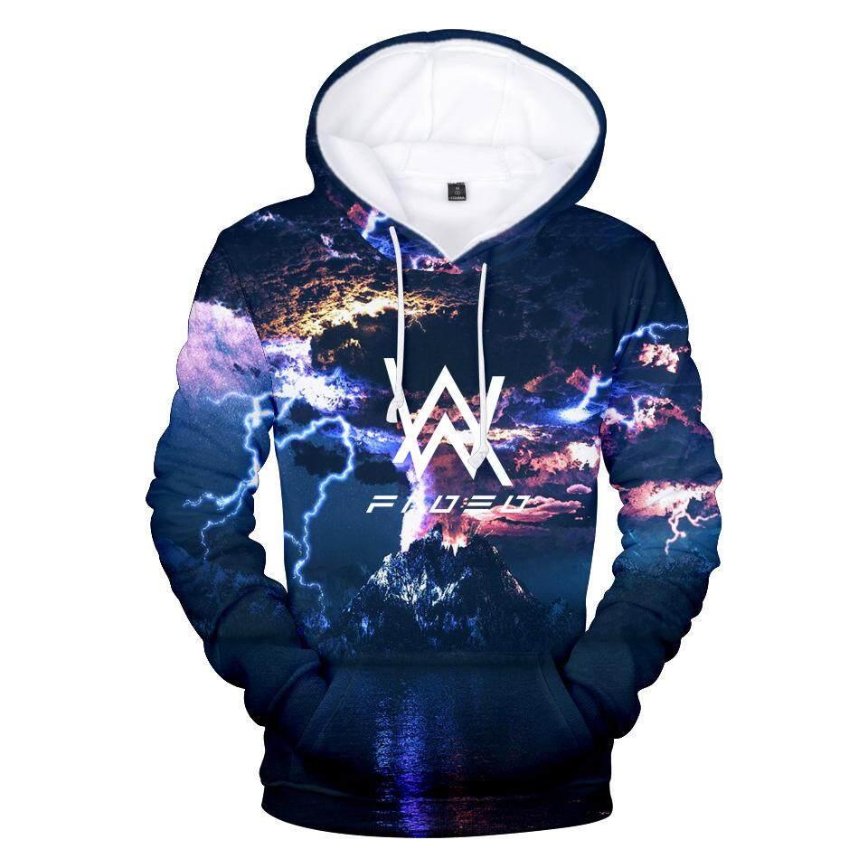DJ Electronic Musician Alan Walker Men Women 3D Hoodie Casual Street Style Clothes XXS-4XL