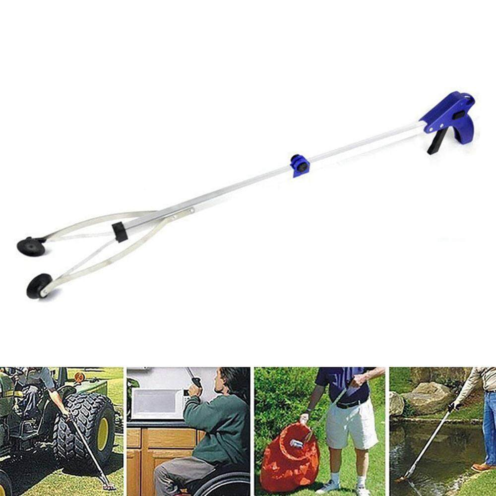 BuyInBulk Foldable Handy Reacher Grabber Pick Up Stick, Lightweight Aluminum 81 CM Extra Long Arm Reaching Claw,Foldable Handy Reacher Disabled Reach Aid Rubbish Litter Picker for Garden Beach Leaf Poop
