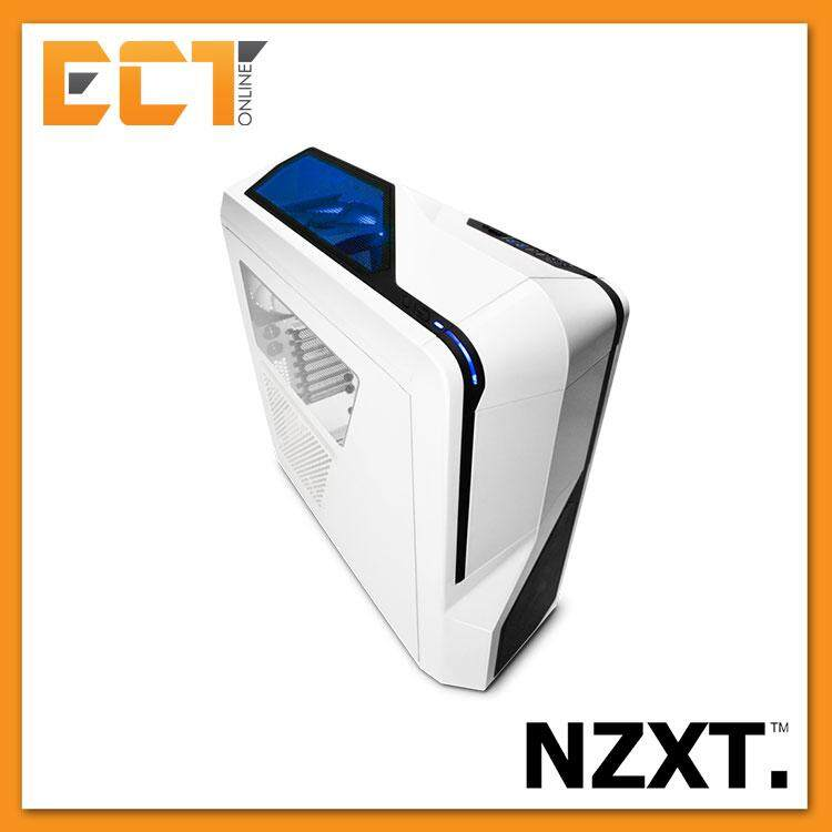 NZXT Phantom 410 Redesigned ATX Mid Tower Case / Chasses - White/Black/Orange Malaysia