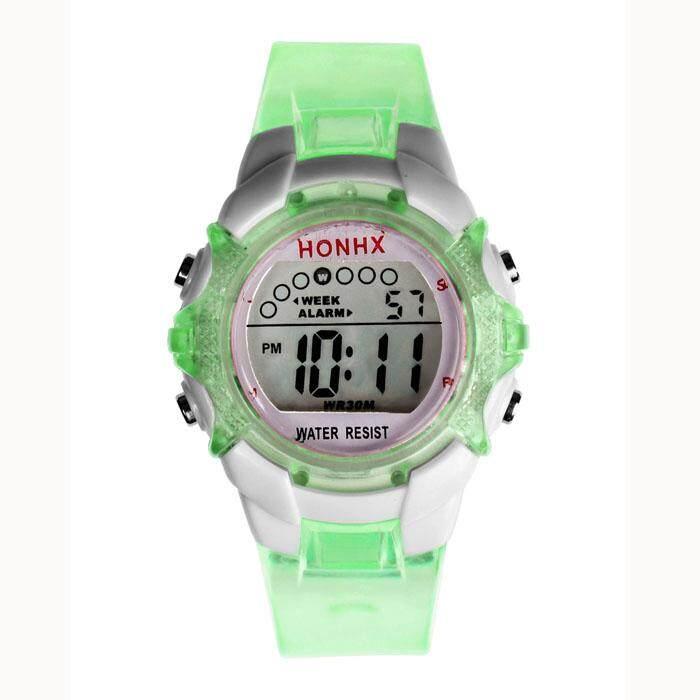 Waterproof Children Girls Digital LED Quartz Alarm Date Sports Wrist Watch Malaysia