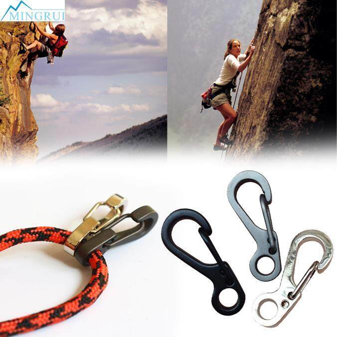 Mini Buckle Snap Spring Clip Hook Carabiner Backpack Key Ring Tactical Tool Kits By Mingrui.